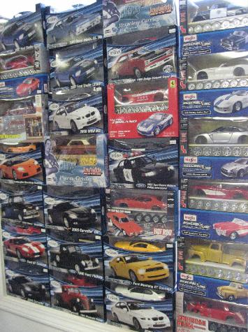 Performance Hobbies, Webster, New York, diecast cars and trucks
