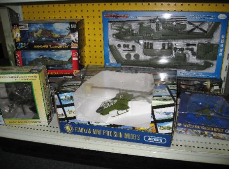 Performance Hobbies, Webster, New York, diecast helicopters