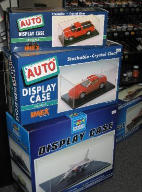 Performance Hobbies, Webster, New York, diecast cars and trucks show cases